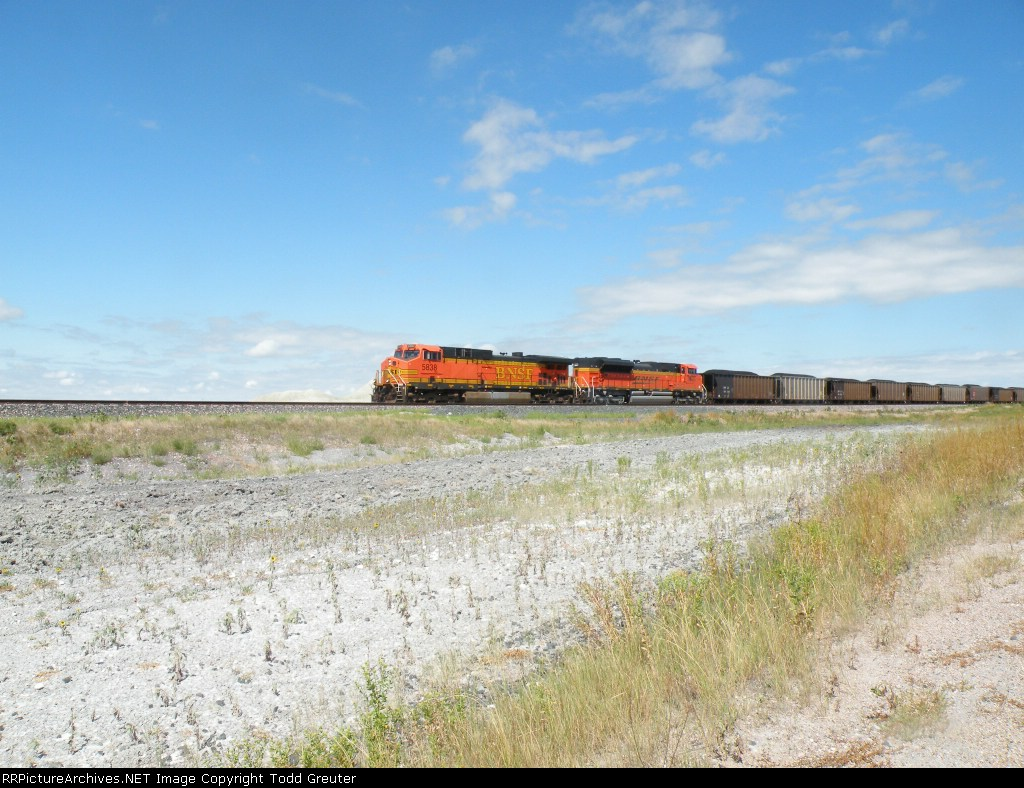 BNSF in the Nebraska Badlands