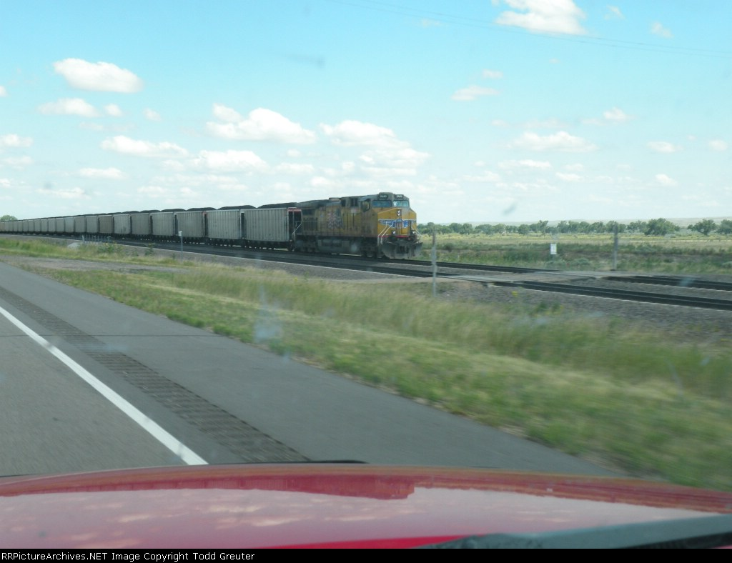 Union Pacific Coal Train