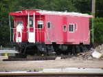 Unmarked Display Caboose