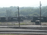 NS Juniata shops yard