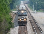 Southbound NS freight