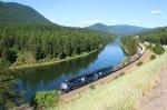 Clark Fork River curve