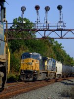 CSX 7565 damn near skunked my westbound