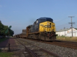 CSX 344 is doing all the work westbound