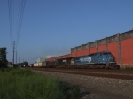 NS 8352 ic conrail quality paint leads a westbound