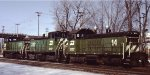 BN switchers in St Paul MN in 1997