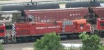 Minnesota Commercial Alco C636 at St Paul MN Daytons Bluff in July 2012.