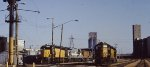 Mpls MN CNW yard in 1987.