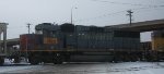 A Southern Pacific GP60 in St Paul UP Belt Yard in Feb 2013.