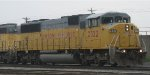 A UP SD60M leaving Belt yard in St Paul MN in May 2012.