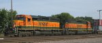 Flashback to 2006; BNSF at University headed into Northtown in Mpls MN 2007.