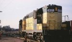 CNW GPs at Belt Yard in St Paul MN in 1997.
