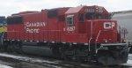 A CP Rail ex Soo Line SD60 in St Paul MN in Feb 2013.