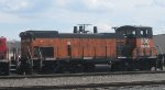 A Milwaukee Road MP15AC on the CP Rail in May 2013.
