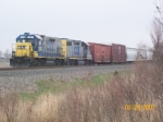 CSX 1507 sitting with J777