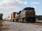 After waiting for traffic on the GTW, CSX 5265 & 7610 head east again with L156