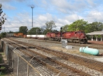 With a new crew onboard, CP 9631 heads east with 32T