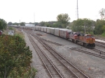 BNSF 5515 & 606 pull down the Coach lead with 28J in tow