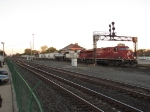 CP 8764 & SOO 6023 resume their eastward trip with 36T