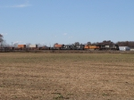 38E heads east across the barren autumn Indiana landscape
