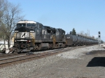 NS 8321 & 8844 lead 69Q west with ethanol empties