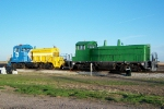 Two locomotives