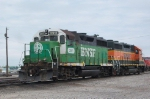 BNSF 2911 and BNSF 2875