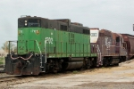 BNSF 1702 and RCA 101