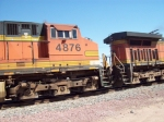 BNSF 4876