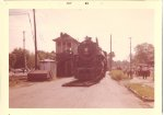 6325 gets taken to its new home by the gtw station in Battle Creek in SEPT. 1960