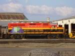 KCSM 2501 KCS Shreveport Diesel Shop
