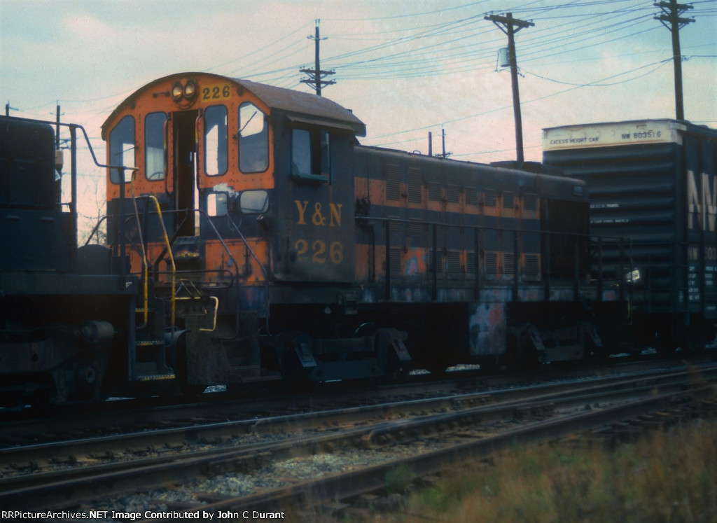 Youngstown & Northern Alco S4 226