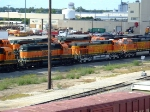 BNSF 6854, 5156, and 4680