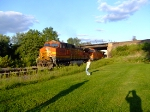 BNSF 4920 and 5030