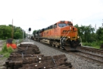 BNSF 5975 headed east for recall service