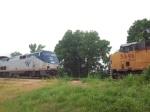 UP & Amtrak meet