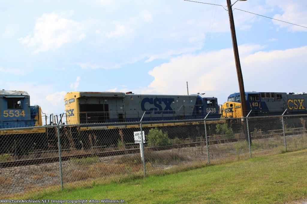 CSX 5538