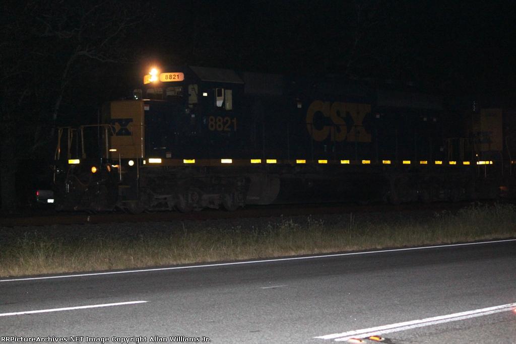 CSX 8821