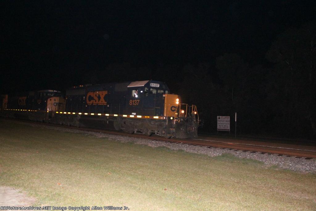 CSX 8137