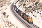 Eastbound intermodal nears the top
