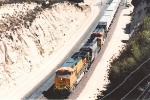 Westbound intermodal starts downhill