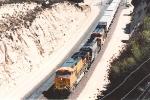 Westbound intermodal starts downhill