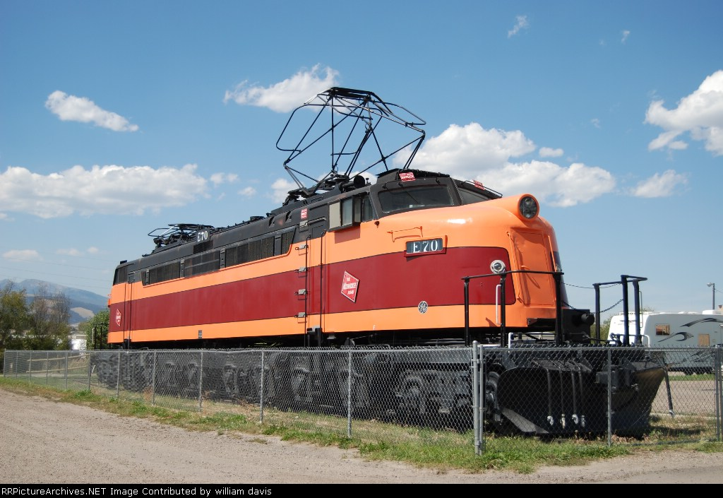 Milwaukee Road 2-D-D-2 E-70