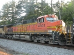 BNSF 4302 (NS 173's 3rd engine)