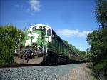 SDP40 Passenger Diesel & Train