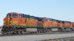BNSF 4344  5395  and  4035
