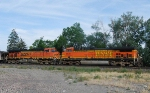 BNSF 5910 and 5635