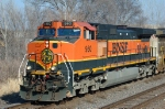 BNSF 960, GE C44-9W, one from BNSF's first order of Dash-9s,