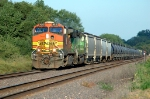 BNSF 4315 and 1789 power the local headed to Gibson Yard in Omaha, seen here westbound on the Creston Sub