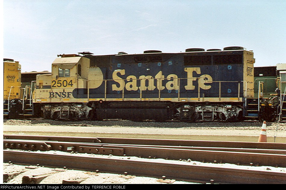 BNSF 2504 (ex-ATSF)
